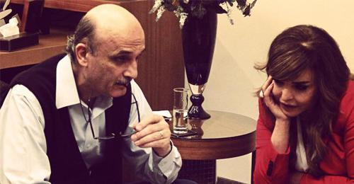 """بالصور: ريما نجيم في معراب.. وجلسة """"قهوة وكتاب"""" مع الدكتور جعجع"""
