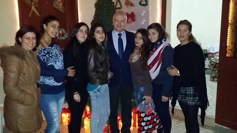 بالصور: زيارة لكرم إلى منطقة ددة- الكورة في مناسبة عيد الميلاد