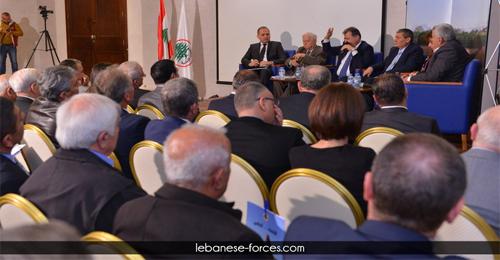 """بالصور: المؤتمر التنموي للـ""""القوات"""" – الكورة"""