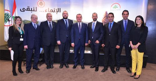 """بالصور: المؤتمر التنموي لـ""""القوات"""" – بيروت"""