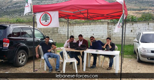 بالصور: مجريات العملية الانتخابية في جامعة القديس يوسف في الشمال