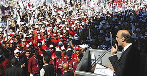 """افتتاحية """"المسيرة"""": حزب يريد إنهاض الدولة وحزب يريد تقويضها"""