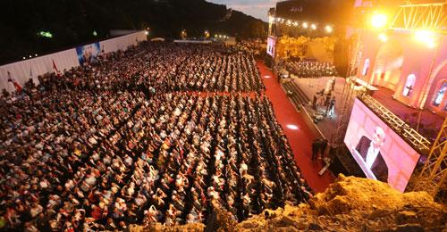كلمة جعجع خلال قداس شهداء المقاومة اللبنانية 2016