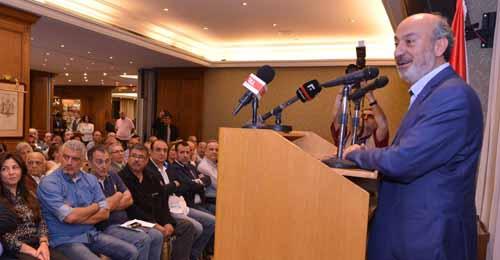 بالصور – يحشوشي: اتينا لنقوم بثورة هادئة لصالح بيروت