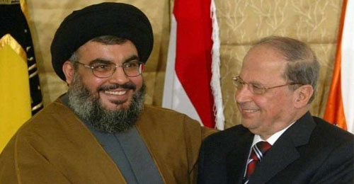 """""""حزب الله"""" لعون: الفراغ ممنوع"""