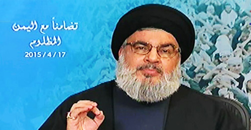 """الامير بن مساعد يرد على نصرالله بقصيدة: """"على قدر هول الحزم تهذي العمائم"""""""