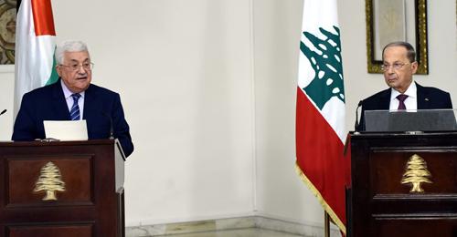 """بيروت تنجح بفرض """"الشق الأمني"""" على زيارة """"أبو مازن"""""""