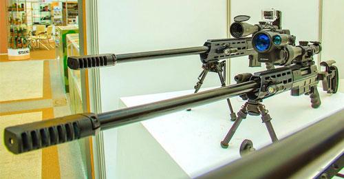 القناصة الروسية الحديثة DXL- 4 برصاص أميركي التصميم