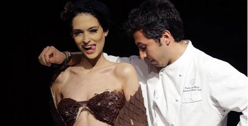 أزياء من الشوكولا تغزو منصات بيروت وأجنحة طعام لبنانية وعالمية تقدّم أفضل ما لديها