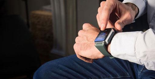 ساعة يد مخصصة لمرضى السكري والرياضيين