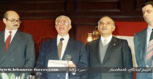 صورة وكلمة: انتخاب الياس الهراوي رئيساً