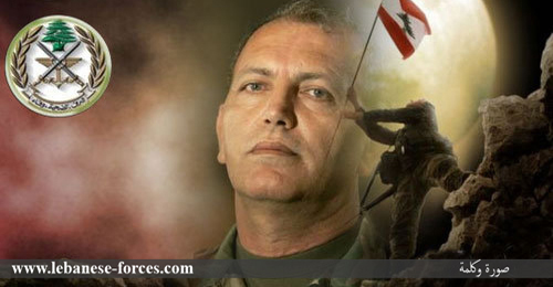 """""""صورة وكلمة"""": إغتيال فرانسوا الحاج احد كبار أبطال معارك نهر البارد"""