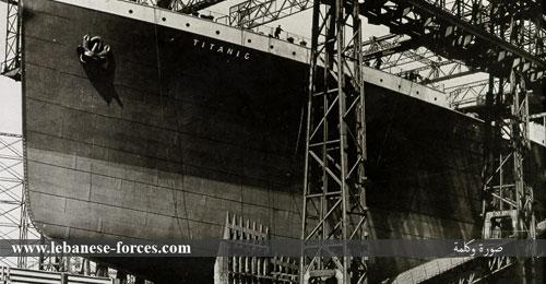 """""""صورة كلمة"""": بدء بناء سفينة """"تايتنك"""""""