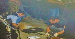 خاص  بالصور: سطو على محل بول مخلوف في سد البوشرية ومقتل احد السارقين بعد تبادل لاطلاق النار
