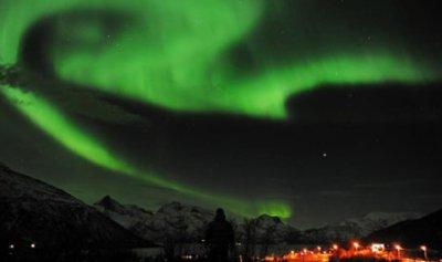 الشفق يزيّن سماء النرويج
