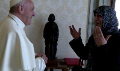 عائلة الصدر في حضرة البابا