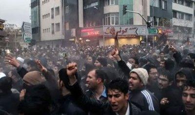بالفيديو: قمع تظاهرات ضد الغلاء في إيران