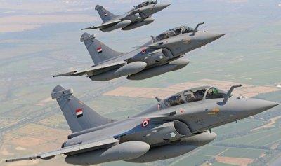 مقتل 4 إرهابيين في غارة للقوات الجوية المصرية جنوب رفح