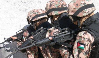 الجيش الاردني يحبط مخطط تهريب أسلحة ومخدرات وإرهابيين