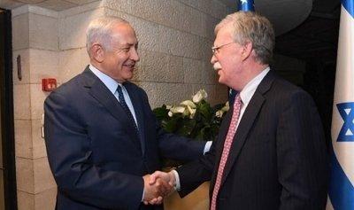 نتانياهو إلتقى بولتون في القدس والمباحثات ركزت على الملف الإيراني