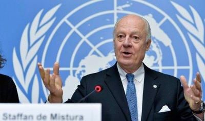دي ميستورا: المعارضة سوريا مستعدة للتفاوض والنظام رافض