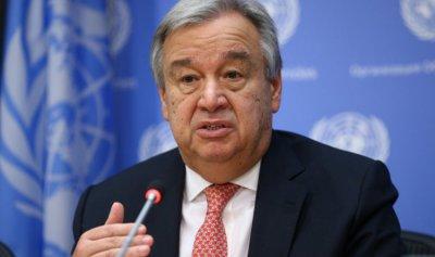 غوتيريش عن العقوبات على إيران: لا أستطيع فعل شيء