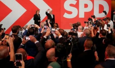 عودة اليسار الوسط إلى الحكم في المانيا
