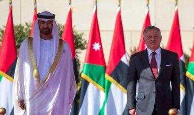 عبدالله وبن زايد بحثا عملية السلام