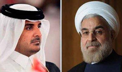 إتفاق بين روحاني وأمير قطر على تعزيز التعاون بين طهران والدوحة
