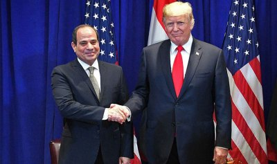 السيسي: شرف لي لقاء ترامب