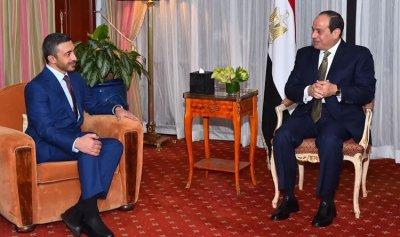 مصر والإمارات تؤكدان التضامن في مواجهة التحديات