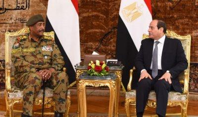 السيسي والبرهان بحثا التطورات في السودان
