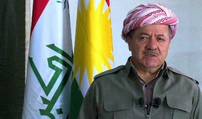 بارزاني: الإنفصال قرار شعب كردستان ولا حل بديل