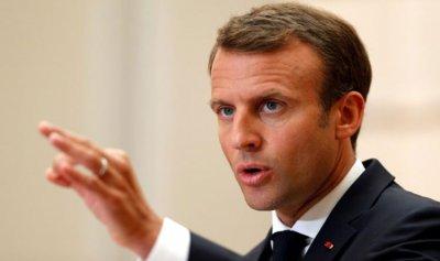 ماكرون: الجيش الفرنسي باق في سوريا