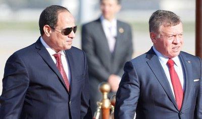 ملك الأردن يعزي السيسي في حادث قطار طوخ
