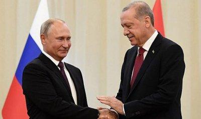 """بوتين وأردوغان دشّنا جزءا من """"السيل التركي"""""""