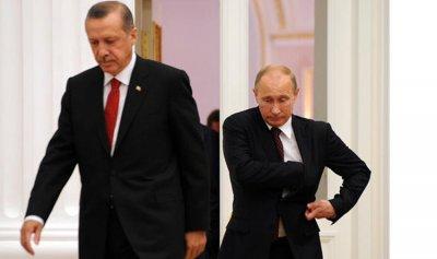 أردوغان لبوتين: هجمات الجيش السوري تهدد الأمن التركي
