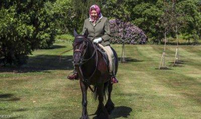 """أول ظهور لملكة بريطانيا منذ إغلاق """"كورونا"""""""