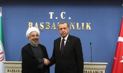 روحاني لأردوغان: للتصدي الحازم لإرهاب إسرائيل