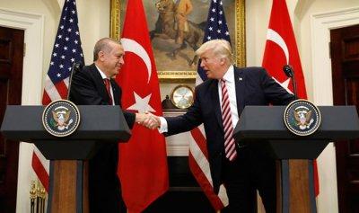 """تنسيق """"أكثر فاعلية"""" بين ترمب وأردوغان"""