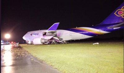 بالفيديو والصور: وانزلقت الطائرة!