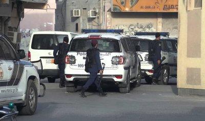عملية أمنية في قرية الدراز في البحرين