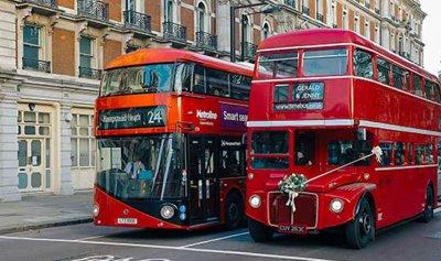 """""""القهوة"""" وقودا للحافلات في لندن"""
