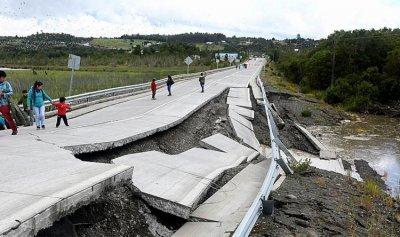 زلزال بقوة 7 درجات ضرب سواحل تشيلي وتسبب بانهيارات أرضية
