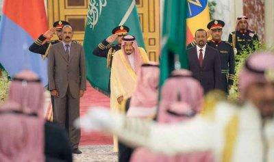 """إثيوبيا وإريتريا يطويان """"أطول صفحة"""" نزاع في القارة الأفريقية برعاية السعودية"""
