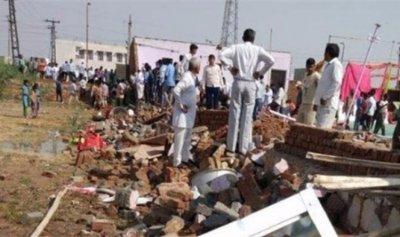 40 قتيلاً و50 جريحاً بانهيار خيمة في الهند