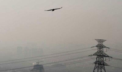 حريق كبير يقطع الكهرباء في ايران