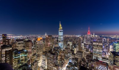 بالفيديو ـ مصعد زجاجي لمشاهدة معالم نيويورك قريباً