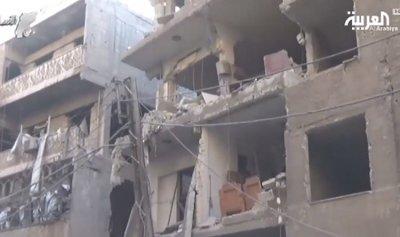 بالفيديو: مجزرة جديدة للأسد..مقتل 4 أطفال وأبويهم بالغوطة الشرقية