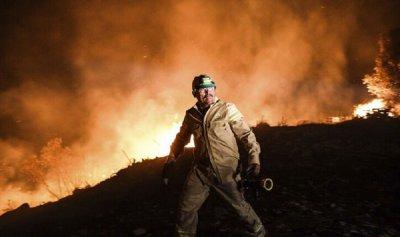 ارتفاع حصيلة ضحايا حرائق الغابات في تركيا